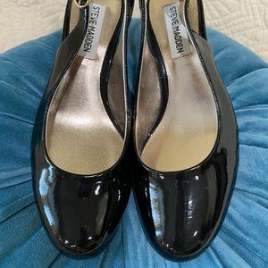 Steve Madden Patent Leather Heels - 6.5